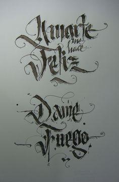 Calligraphy Types X