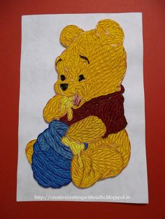 winnie the pooh. Quilling CardsQuilling IdeasPaper ...