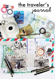 new online class- the travelers journal and a GIVEAWAY! (alisaburke) #traveljournals