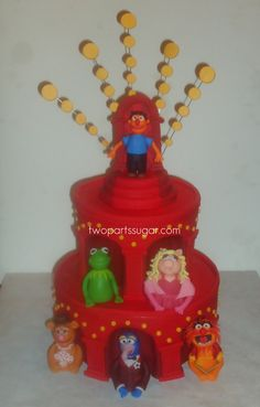 Muppet Cake | Made for Vice President of Disney Studios...wi… | Flickr