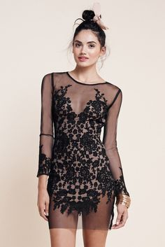 For Love & Lemons | LUAU MINI DRESS