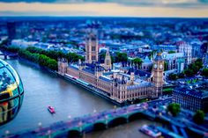 Beautiful Miniaturized World Captured By Tilt Shift Photography
