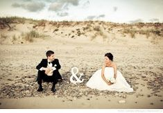 Sweet wedding picture of the bride and groom! Love this!