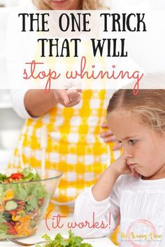 how to stop my child from whining