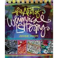 Combine personal handwriting, drawing and doodling to create your own signature art lettering style. Let author Joanne Sharpe inspire you with her personal lettering journal and illustrate how to incorporate your new font styles into your artwork.   InterweaveStore.com