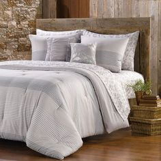 NorthCrest Woodlands Stripe Comforter Set: Shopko