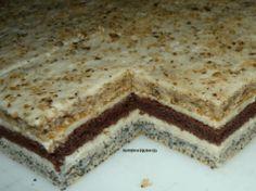 """3 druhy těsta a ten nejlepší mléčný krém: Luxusní zákusek """"dort na plechu""""!"""