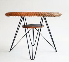 Mid Century Modern Tisch, 1950er Jahre, Eames Ära   eBay