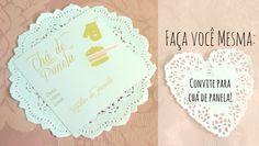 Faça você mesma o Convite para chá de panela! Disponibilizamos um convite super fofo para você baixar! Veja...