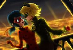 Miraculous Ladybug and Chat Noir by Athena-av