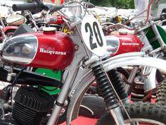 Torsten Hallman's original Husqvarna 250 from 1964 Vintage Bikes, Vintage Motorcycles, Bmx, 2 Stroke Dirt Bike, Mx Bikes, Vintage Motocross, Husqvarna, Café Racers, Dirtbikes