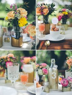 Country Brunch Wedding at Estancia Culinaria - bright, rustic, fabulous! Brunch Wedding, Chic Wedding, Wedding Table, Floral Wedding, Wedding Events, Wedding Flowers, Dream Wedding, Wedding Day, Weddings