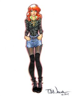 All New X-Men Jean Grey by Todd Nauck