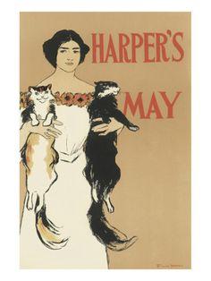 Harper's Magazine, May 1897 Premium Giclee Print
