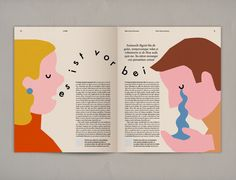 Editorial illustrations created for Die Zeit Magazine's  article about painful break-ups.
