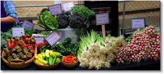 Fresh Veggies; Dane County Farmers' Market on the Square,  Madison, Wisconsin