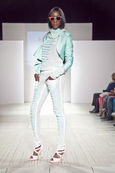 Origin Africa - the brand recently showcased at Africa Fashion Week