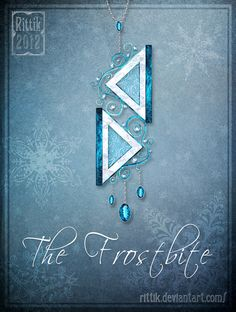 Amulet - The Frostbite by Rittik on DeviantArt Anime Weapons, Fantasy Weapons, Fantasy Jewelry, Fantasy Art, Rune Stones, Magical Jewelry, Weapon Concept Art, Anime Outfits, Cool Items