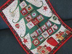 Advent Calendar Modern Christmas Tree Christmas by bellazahn