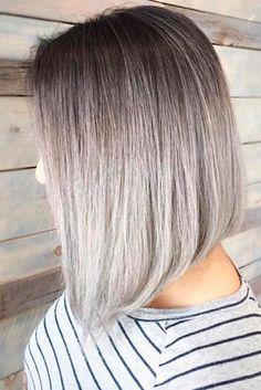 18 Short Grey Hair Cuts and Styles | Short gray hair, Gray hair ...