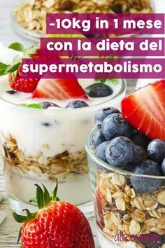 Come perdere peso in tempi brevi con la dieta del supermetabolismo