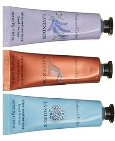 Spotted this amazing set at the Nordstrom Anniversary Sale! Inside this gift box, Crabtree & Evelyn offers three of its best-selling, distinctively scented hand creams.