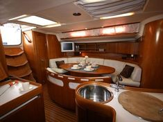 Trawler Interiors | Pin by the rey3 design collaborative on Yacht/SuperYacht | Pinterest