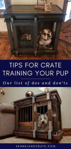 """Many dog owners for the first time are unwilling to train their puppies with a crate. The reality is, of course, dogs are prone to be in the """"den."""" Provide your dog with adequate training and use to ensure a safe place in a designer dog kennel. Cheap Dog Kennels, Dog Kennels For Sale, Luxury Dog Kennels, Crate Training, Training Your Dog, Dog Kennel Flooring, Dog Kennel Cover, Dog Crate"""