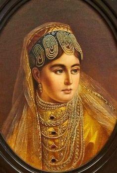 Женщина в русском костюме. Dmitry Antonelli (1791 – 1842)