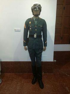 uniforme trafico años 70