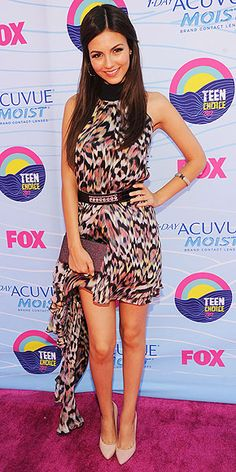 Victoria Justice Teen Choice Awards 2012