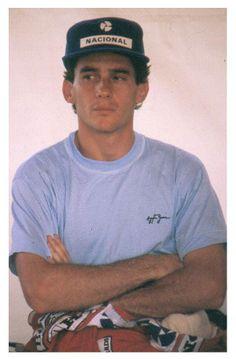 Ayrton Senna, autódromo de Jacarepaguá, Rio de Janeiro, 1989.