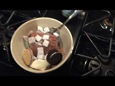 My friend's wife went out of town for the weekend. He got bored and made dessert. https://www.youtube.com/watch?v=nLTobgiLKsA&feature=share