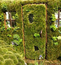 30 beautiful doors that seem to lead to other worlds Art, déco, porte, vieilles portes du monde entier - Door Cool Doors, Unique Doors, Garden Doors, Garden Gates, Garden Entrance, When One Door Closes, Moss Garden, Green Garden, Door Gate