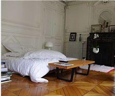 Home Decor Living Room .Home Decor Living Room Parisian Apartment, Dream Apartment, Parisian Bedroom, Apartment Layout, Apartment Interior, Apartment Living, Home Bedroom, Bedroom Decor, Bedrooms