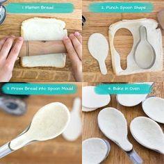 """Buenos días!!!   Hoy retomo el apartado de """"recetas"""" y es que cuando vi en ScissorsPaperWok estas cucharas no tuve ninguna duda: ya sabía de..."""