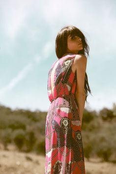 """Spirit of the Painted Desert"" lookbook by Harper Smith http://bonadrag.com/"