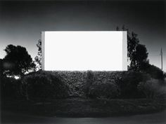 Hiroshi Sugimoto :: South Bay Drive-In, San Diego, 1993 / more [+] by this photographer