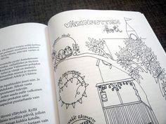 Värinauttien koti! Ihana tarina ja värityskuvat