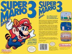 Super Mario 3 My favorite game EVER!