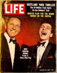 Life Magazine 1963 Fank Sinatra by ShopGlammasAttic on Etsy, $12.00
