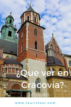 ¿Qué ver en Cracovia? que visitar en el casco antiguo de la ciudad. #Polonia #Cracovia