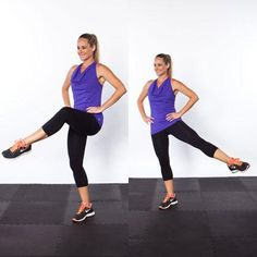 Attitude to Side Extension - Top 10 NEW Exercises for Thinner Thighs - Shape Magazine - Page 8