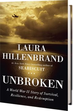 Unbroken, the story of Louie Zamperini and his WWII experiences in the Pacific and of his survival in a Japanese prisoner of war camp. I thought it was way better than Seabiscuit!