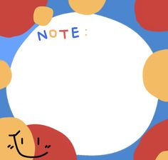 Notes Template, Frame Template, Templates, Cute Notes, Good Notes, Printable Stickers, Cute Stickers, Memo Notepad, Note Memo