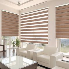Zebra Blinds Coming Soon as part of our line of services! Stay tuned for more details with rechargeable motor all colors all sizes. We will have the best prices in town! If you are interested just wait and compare prices before you buy! Condo Interior Design, Home Room Design, House Design, Blinds For Windows, Curtains With Blinds, Patio Door Blinds, Window Blinds, Zebra Blinds, Zebra Curtains