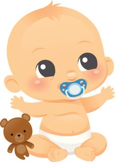 Cute Baby Boy - Illustration vectorielle