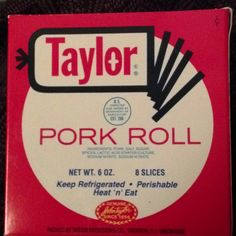 Pork Roll and Cheese sandwiches are the best!!!