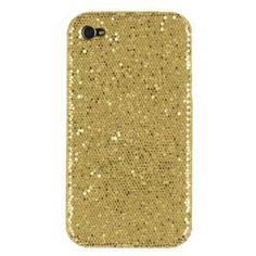 Gold Sparkles Case for Apple iPhone 4, 4S (AT, Verizon, Sprint)-  $2.65 + Free Shipping