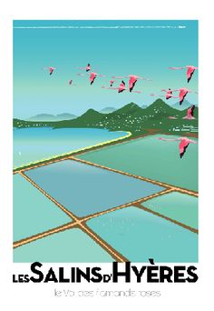 MonsieurZ French Illustrator france south of France press international advertising Air France . Hyeres France, Vintage Beach Posters, Pub Vintage, Tourism Poster, Travel Ads, Air France, Art Deco Posters, Artist Management, Advertising Poster